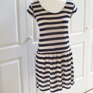 Dresses & Skirts - Striped, Open-Back Summer Dress